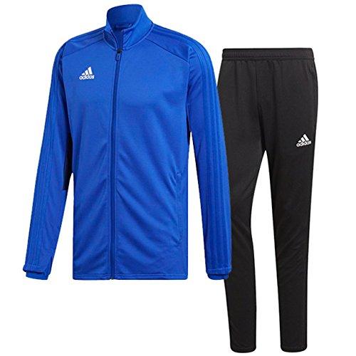 マルコポーロ従順な静けさアディダス(adidas) CONDIVO18 トレーニングウエア 上下セット(ボールドブルー/ブラック) DJV56-CG0405-DJU99-BS0526