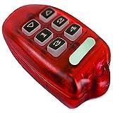 Leviton 125A00-2 Omni-Bus Keyfob Remote Control, 16-Channel