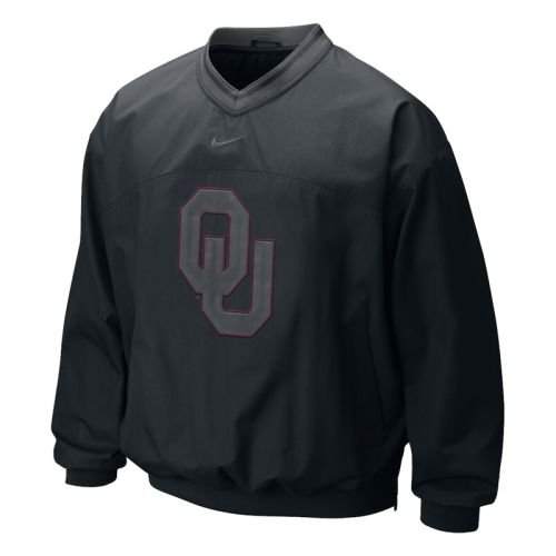 NIKE Oklahoma Sooners - Classic Seasonal Windshirt - Men - M (Windshirt Nike Mens)