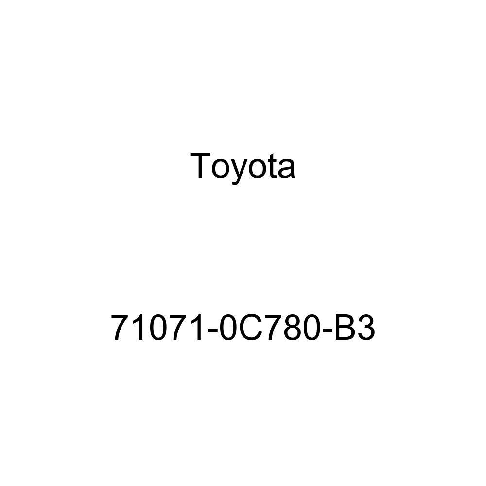 TOYOTA Genuine 71071-0C780-B3 Seat Cushion Cover