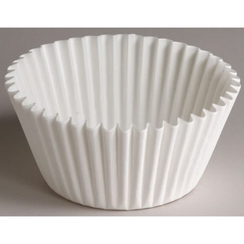 Hoffmaster 53-54000 5 1/2 inch Fluted-Bakery Fluted Bake Cup - Bottom Width 2-1/4 inch x Wall Height 1-5/8 inch, 20 packs of each 500-10000 per case. by  (Image #1)