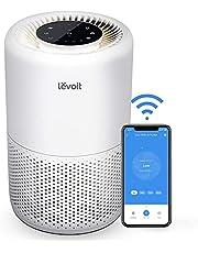 LEVOIT Slimme Luchtreiniger met WiFi en Alexa, 3-in-1 HEPA H13-filter tegen 99,97% stof pollenrook voor mensen met allergieën, CADR 170m³/u voor 35m² appartementslaapkamer, nachtlampje timer