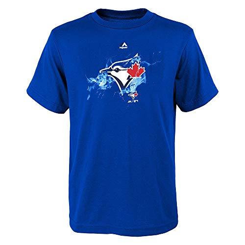 Toronto Blue Shirts - Outerstuff Toronto Blue Jays Majestic MLB Youth Blue Energy Ball T-Shirt