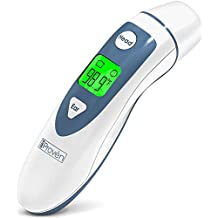 Ear Thermometer with Forehead Function - FDA Approved for Baby and Adults - iProven DMT-489 - Upgraded Infrared Lens Technology for Better Accuracy - New Medical Algorithm