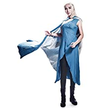 Miccostumes Women's Game of Thrones Season 4 Daenerys Targaryen Cosplay Dress