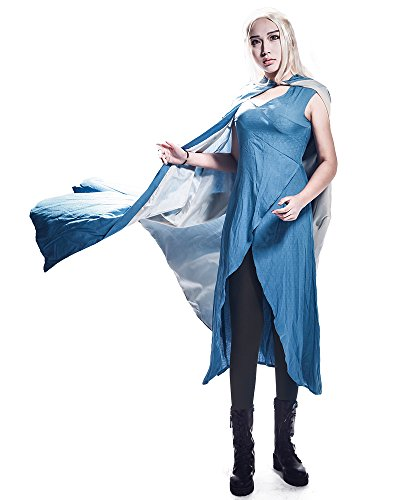 miccostumes Women's Season 4 Daenerys Targaryen Cosplay Dress(Women M) -