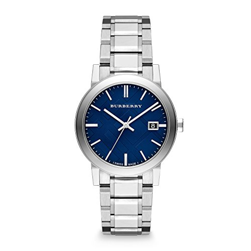 Burberry-Embossed-Blue-Dial-Stainless-Steel-Quartz-Mens-Watch-BU9031