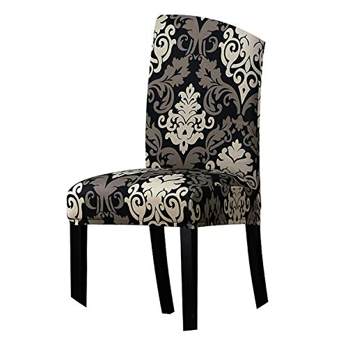 yunzhongke Print Flowers Chair Cover Classic Chair Covers Seat Cover for Home Dining Room Weddings Hotel Party Banquet,125828,Universal Size (Modern Ls Loveseat)
