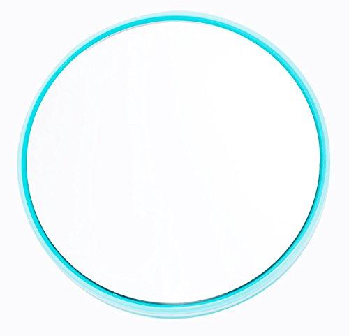 Danielle Creations Mini Turquoise Suction Mirror, 20X High Magnification by Danielle Enterprises