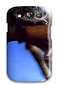 High-quality Durability Case For Galaxy S3(cute Kitty From A Tree)