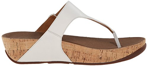 cdc328fcb FitFlop Women s The Skinny Cork Leather Flip Flop - Import It All