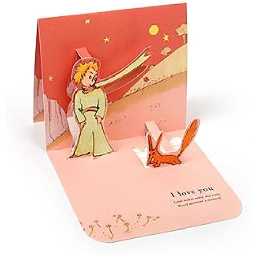 LE PETIT PRINCE LOVE POP-UP CARD - Fox Sales
