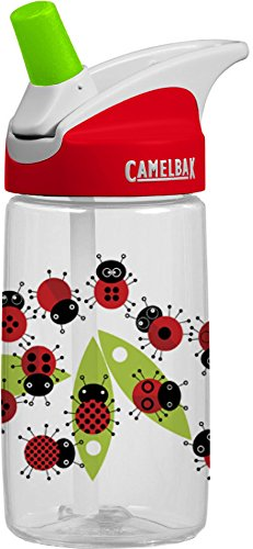 CamelBak Kid's Eddy Water Bottle, Ladybugs.4-Liter