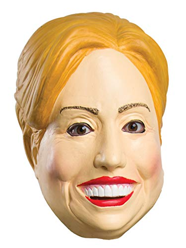 Rubies Costume Company 33973 Deleter of the Free World Latex Mask and Party Decor, Hillary]()