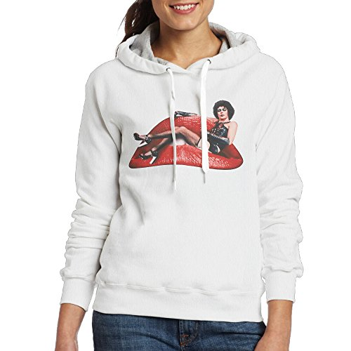 Rocky Horror Costumes Female (UFBDJF20 Rocky Horror Pictuer Shov Sweatshirt For Women S White)