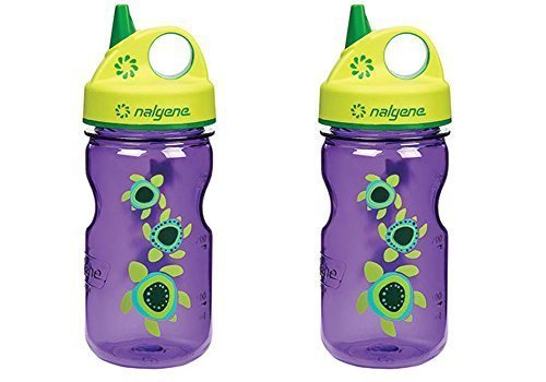 Nalgene Grip-n-gulp Everyday Kids Sea Turtles 12oz Water Bot