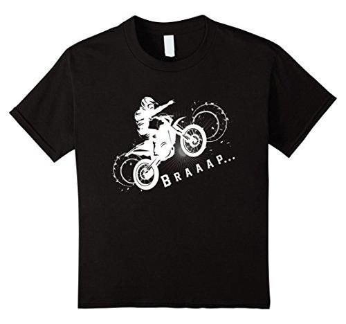 Kids Braaap t shirt -Gift for Dirt bike Motocross and Biker Fans 8 (Dirt Bike Gifts)