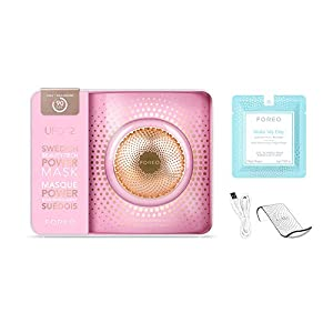 FOREO UFO 2 Power Mask & Light Therapy Device, Pearl Pink (Color: Pearl Pink)