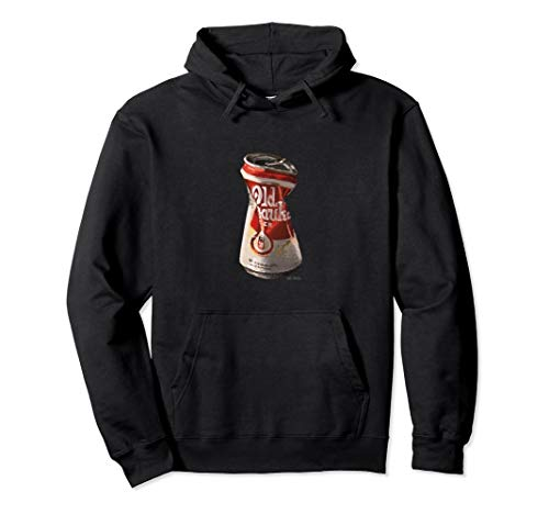 Old Crushed Beer Can Milwaukee t-shirt Pullover Hoodie (Apparel Milwaukee Old)