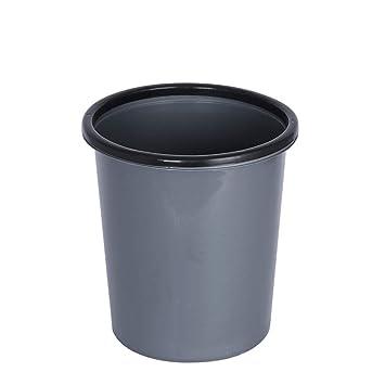 LSJT Haushalt Mülleimer Ohne Abdeckung Kunststoff Mülleimer ...