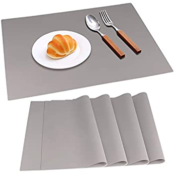 Amazon Com Ivyoung Large Reusable Silicone Placemats For
