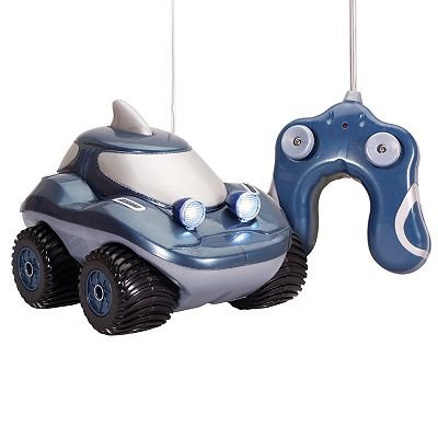 Kid Galaxy Morphibians Shark Radio Control Amphibious Vehicle toy gift idea birthday