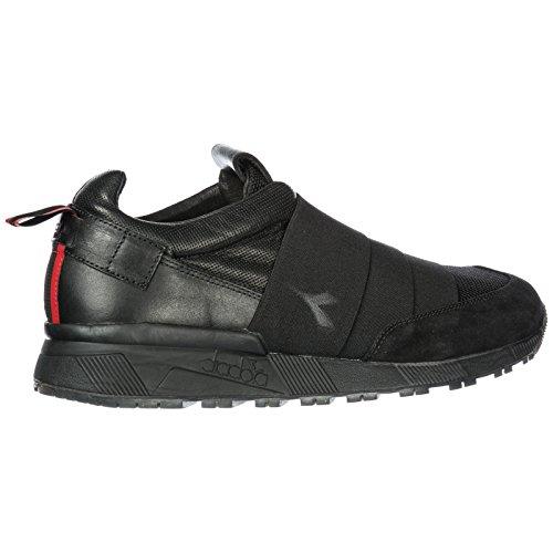 Nero Slip Uomo Heritage In H Nuove Diadora N9000 On Pelle Sneakers Originali HWEb29eDIY