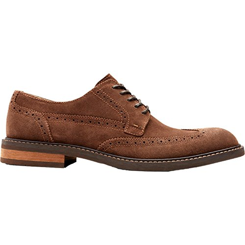 Vionic Mens Bowery Bruno Oxford Dark Brown Size - The Bruno San Shop