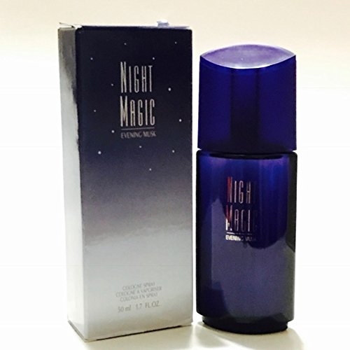 Avon NIGHT MAGIC Evening Musk Cologne Spray for women 1.7 Fl Oz (Night Magic)
