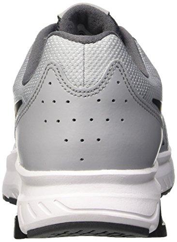 Nike Dart 11, Zapatillas de Running para Hombre, Gris/Negro/Blanco (Wolf Grey/Black-Drk Grey-White), 43 EU