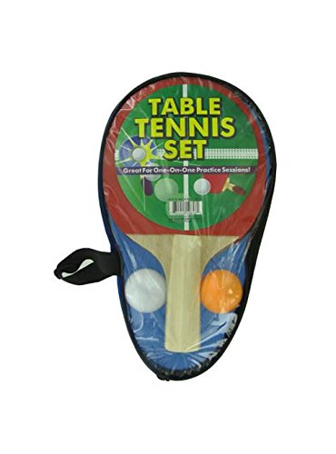 Portable Table Tennis Set - Set of 6 by Kole Imports