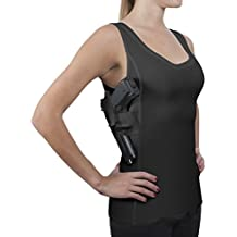 ConcealmentClothes Women's Compression Undercover- Concealed Carry Holster Tank Top Shirt