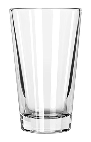 Libbey Glassware 15141 Restaurant Basics Cooler Duratuff Glass, 14 oz. (Pack of 24)