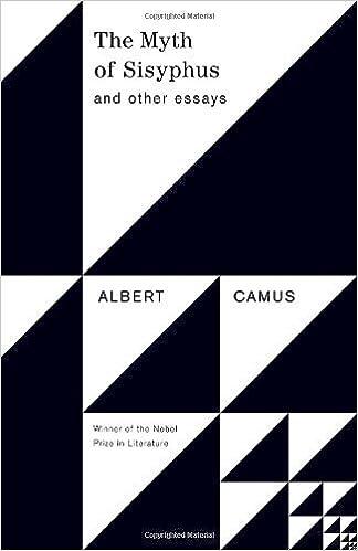 the myth of sisyphus essay