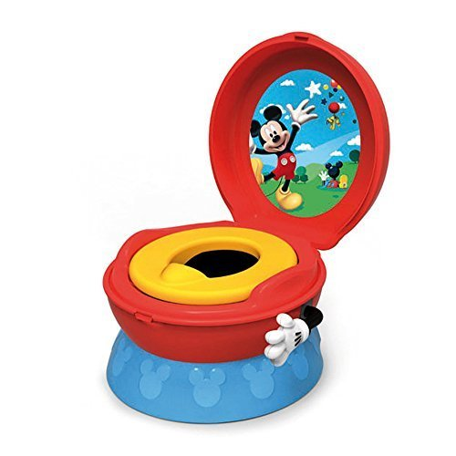 The First Years Disney Baby Mickey Mouse 3-In-1 Celebration Potty System by The First Years (Mouse Featuring Mickey)