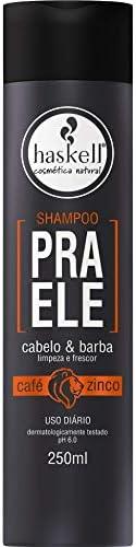 Shampoo Cabelo e Barba pra Ele 250 ml, Haskell