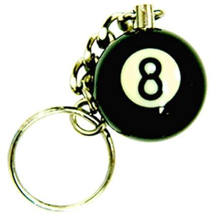 Amazon.com: Sterling Gaming 1-Inch 8-Ball clave Cadena ...