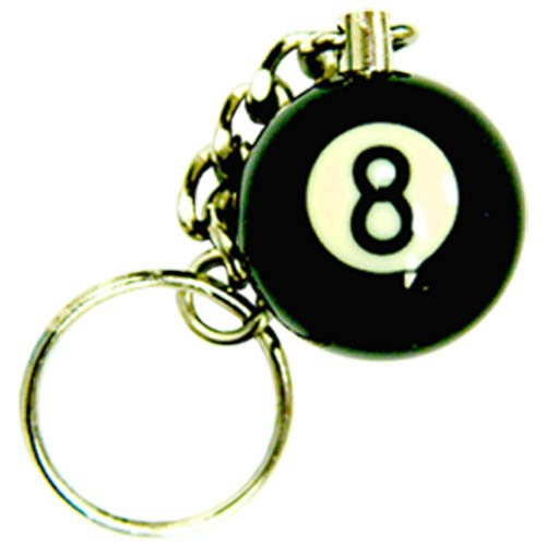 - Sterling Gaming 1-Inch 8-Ball Key Chain