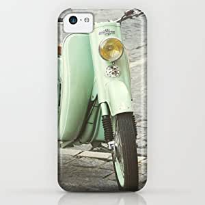 Society6 - Mint Moto - Bruges Belgium Photography iPhone & iPod Case by LoR.