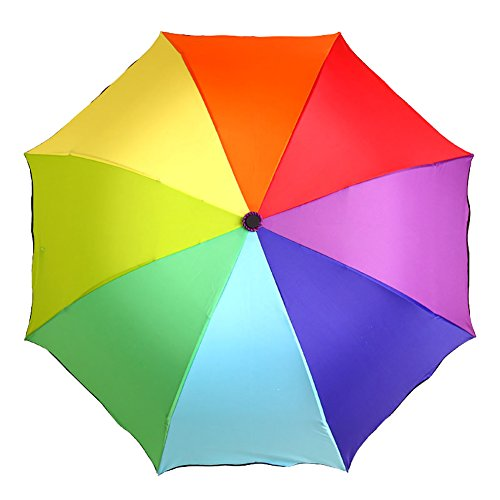 Generic Large Foldable Umbrella Size 68inch Multicolor by Generic
