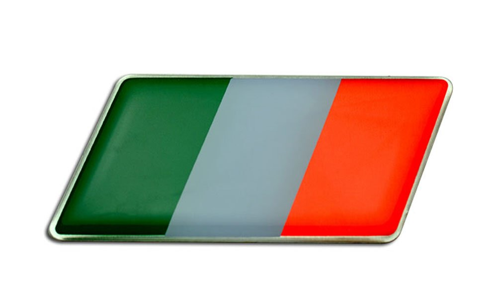 Amazon Com Italian Italy Flag Emblem Badge Nameplate Decal Rare For