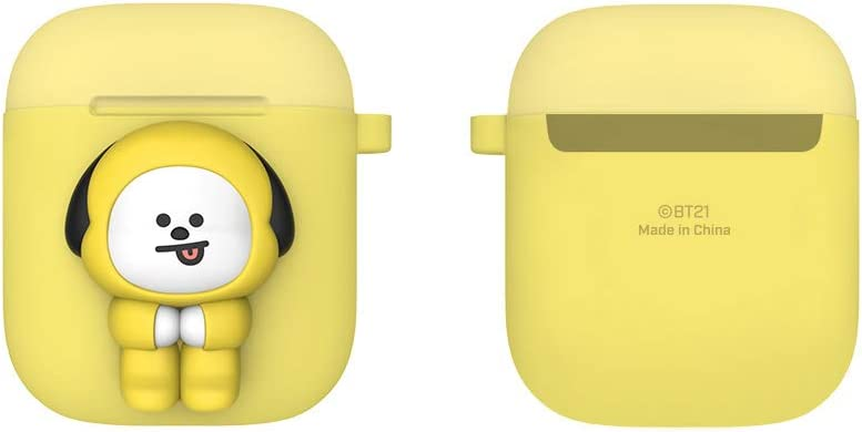 Two-Tone Airpods Case KOYA Pose Type Ring Type BT21 New Official Merchandise