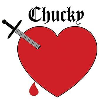Chucky Heart Temporary Tattoo