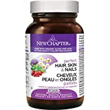 New Chapter Perfect Hair Skin and Nails Vitamins with Fermented Biotin + Astaxanthin - 30 ct Vegetarian Capsule