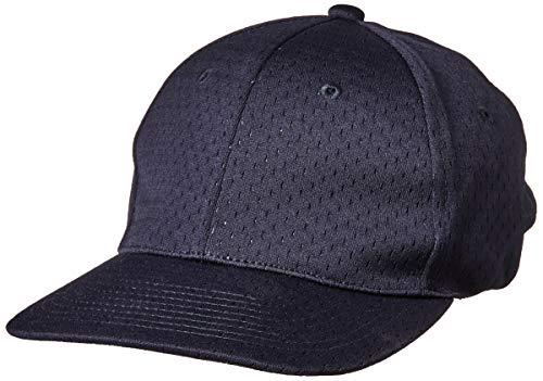 Adams USA ADCAP2-LXL-NB Mesh Comfort Fit 8-Stitch Umpire Cap, Navy, Large/X-Large (Adams Mesh Cap)