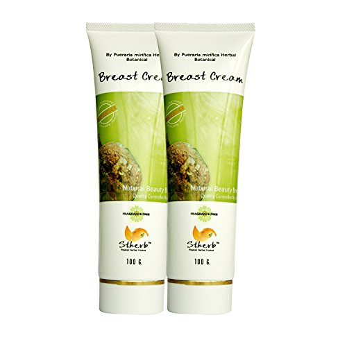2 x 100g Stherb Natural Pueraria Mirifica Breast Enlargement Firming Cream