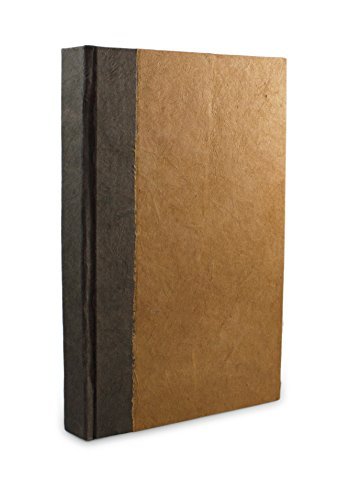 Nepali Namaste Journal with Handmade Lokta Paper and Vegetable-Dyed Cover (6×9 Inches, Terra Cotta)
