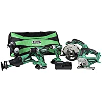 Hitachi Kc18Dg6Lpa 18V Cordless Combo Kit 6 Piece Explained