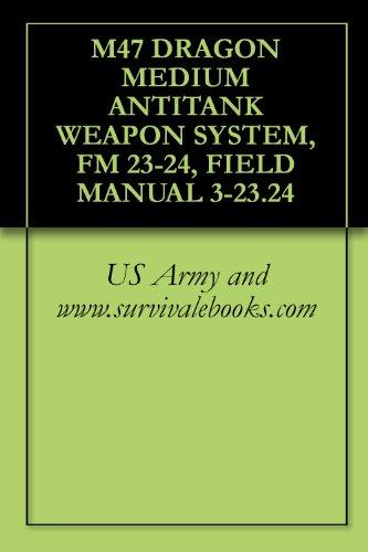 M47 DRAGON MEDIUM ANTITANK WEAPON SYSTEM, FM 23-24, FIELD MANUAL 3-23.24