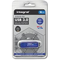 Integral® 16GB COURIER FIPS 197 ENCRYPTED USB 3.0